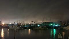 Timelapse Marina Del Ray docks - stock footage