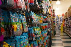 Party Supply Store Aisle - stock photo