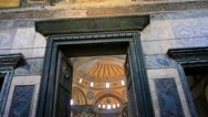 Stock Video Footage of The Hagia Sophia in Istanbul, Turkey