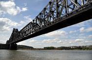 Large Railroad Bridge Stock Photos