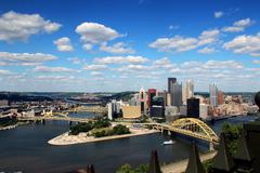 Pittsburgh Skyline - stock photo