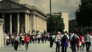 Stock Video Footage of Famous London Scenes - Trafalgar Square, UK - HD