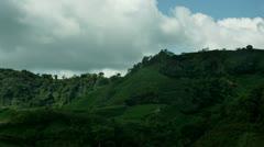 Timelapse padi hills - stock footage