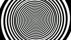 Timelapse spiral graphic - stock footage