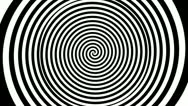 Timelapse spiral graphic Stock Footage