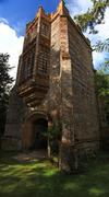 england ruined abbey - stock photo