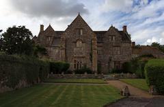 Grand gatehouse in dorset england Stock Photos
