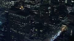 Timelapse Manhattan buildings - stock footage