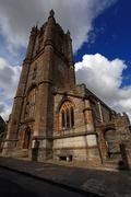 Cerne abbas church dorset Stock Photos
