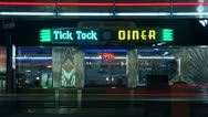 Timelapse Manhattan diner Stock Footage
