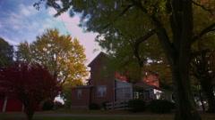 Timelapse farmhouse - stock footage