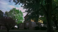 Stock Video Footage of Timelapse farmhouse