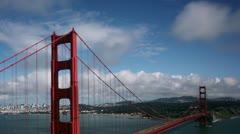 Timelapse Golden Gate Bridge - stock footage