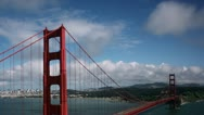 Stock Video Footage of Timelapse Golden Gate Bridge