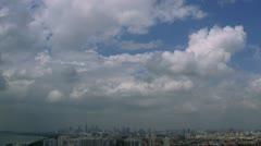 Stock Video Footage of Timelapse Singapore landscape