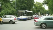 Traffic in city Stock Footage
