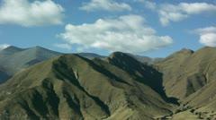 Timelapse Lhasa mountain Stock Footage