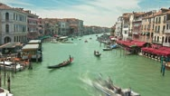 Stock Video Footage of Rialto Bridge Timelapse 02