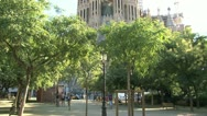 Stock Video Footage of Sagrada familia