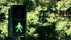 Traffic lights Stock Footage