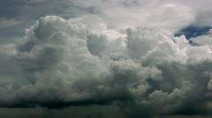 Timelapse cumulonimbus clouds Stock Footage