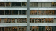 Timelapse office building - stock footage