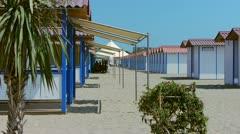 Lido Beach 03 Stock Footage