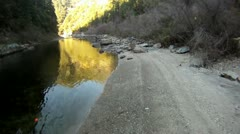 South fork american river Stock Footage