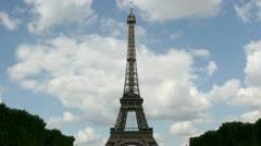Timelapse Eiffel Tower Stock Footage
