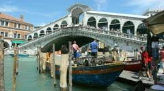 Rialto Bridge - stock footage