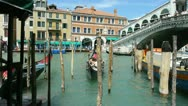 Stock Video Footage of Rialto Bridge 02
