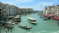 Stock Video Footage of Rialto Bridge 03