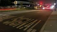 Timelapse Los Angeles traffic Stock Footage