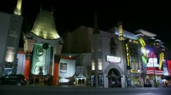 Timelapse Grauman's Chinese Theatre - stock footage