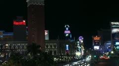 Timelapse Las Vegas landscape Stock Footage