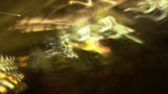 Abstract lights timelapse Stock Footage