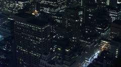 Timelapse Manhattan buildings Stock Footage