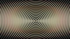 Circular Pattern Overlay Stock Footage