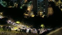 Timelapse Singapore landscape Stock Footage