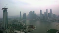 Timelapse Singapore Flyer Stock Footage
