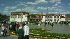 Timelapse Jokhang Temple Stock Footage