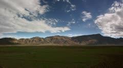 Timelapse mountain landscape Stock Footage