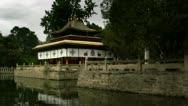 Timelapse Norbulinka Summer Palace Stock Footage