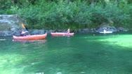 Stock Video Footage of Boys Kayaking