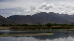 Timelapse lake landscape Stock Footage