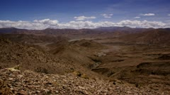 Timelapse dry riverbeds Stock Footage