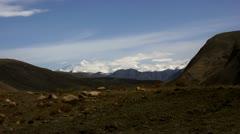 Timelapse Mount Everest landscape - stock footage