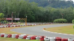 Go Carting - stock footage