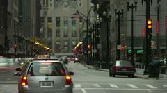 Timelapse LaSelle Street Stock Footage