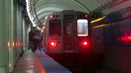 Stock Video Footage of Timelapse Illinois subway